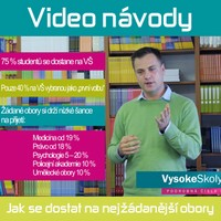 �l�nky video prezentace youtube kampomaturite.cz video n�vody nej��dan�j�� obory
